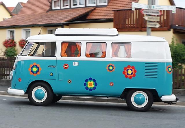 van pour camping
